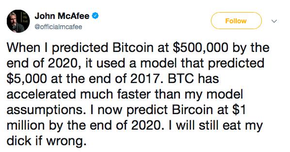 investire in bitcoin nel 2020 - previsioni mcafee