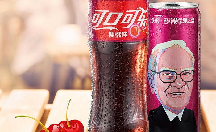 10 fatti interessanti su Warren Buffet - coca cola