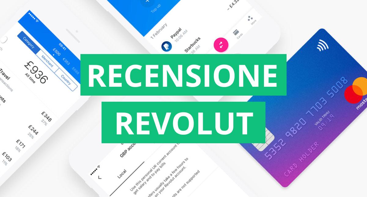 Recensione e opinioni Revolut