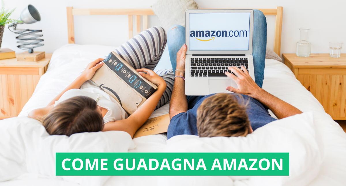 """In questa immagine è mostrata la copertina dell'articolo """"Come guadagna Amazon"""""""
