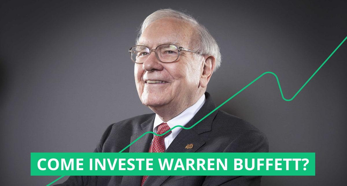 """copertina dell'articolo """"come investe warren buffett"""""""