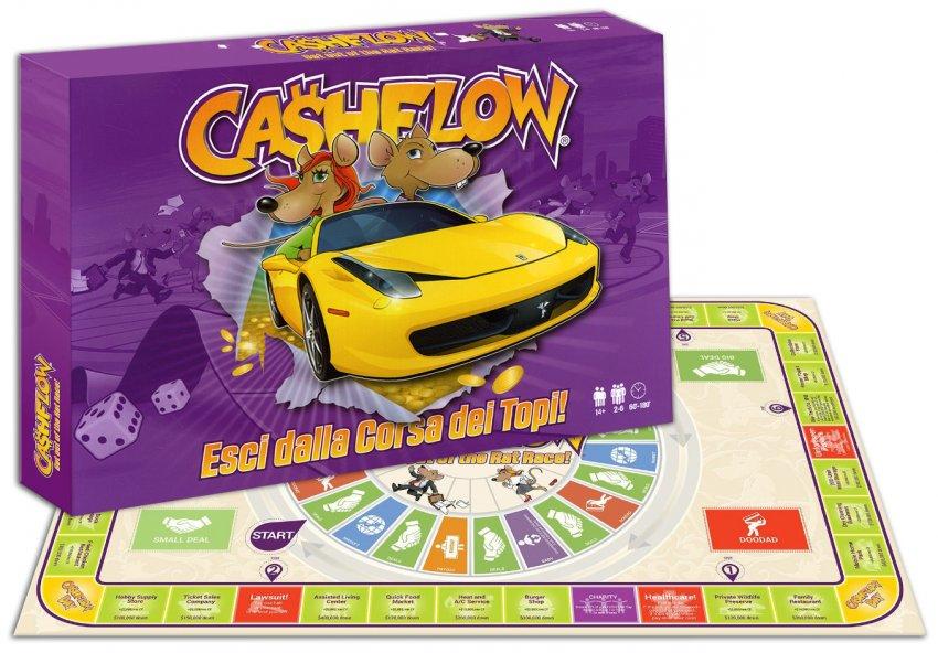 """Padre ricco padre povero - Il gioco da tavolo """"Cashflow"""""""