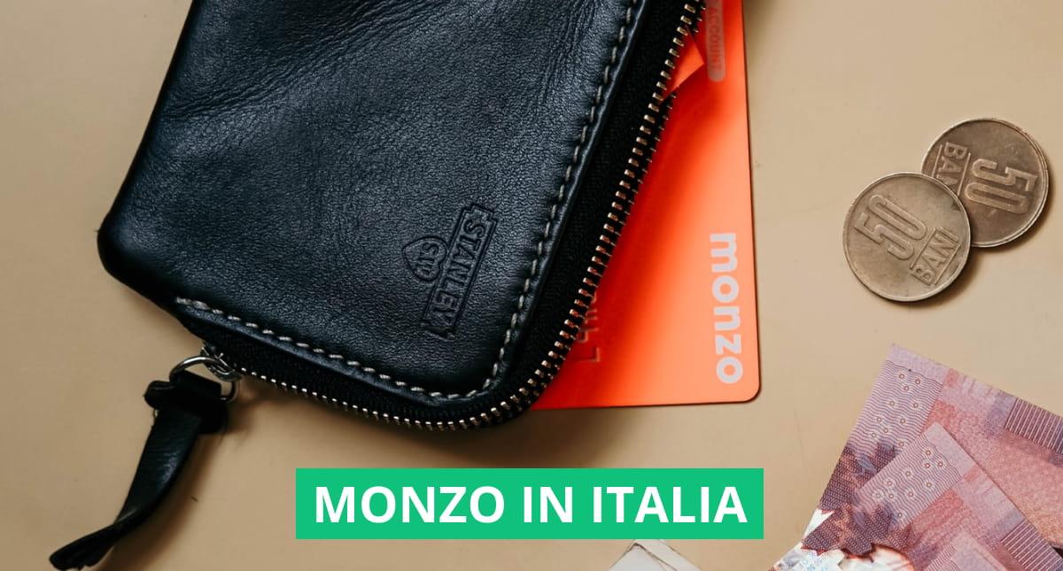"""Copertina dell'articolo: """"Monzo esiste in Italia?"""""""