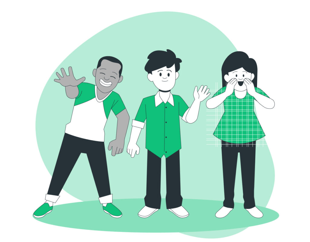 Diversificazione: cosa è e perché è fondamentale per investimenti sicuri - In questa immagine sono rappresentati Filippo, Rino e Sandra.
