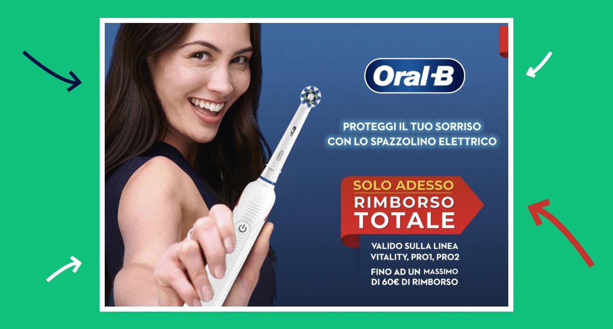 copertina dell'articolo oral-b rimborso totale