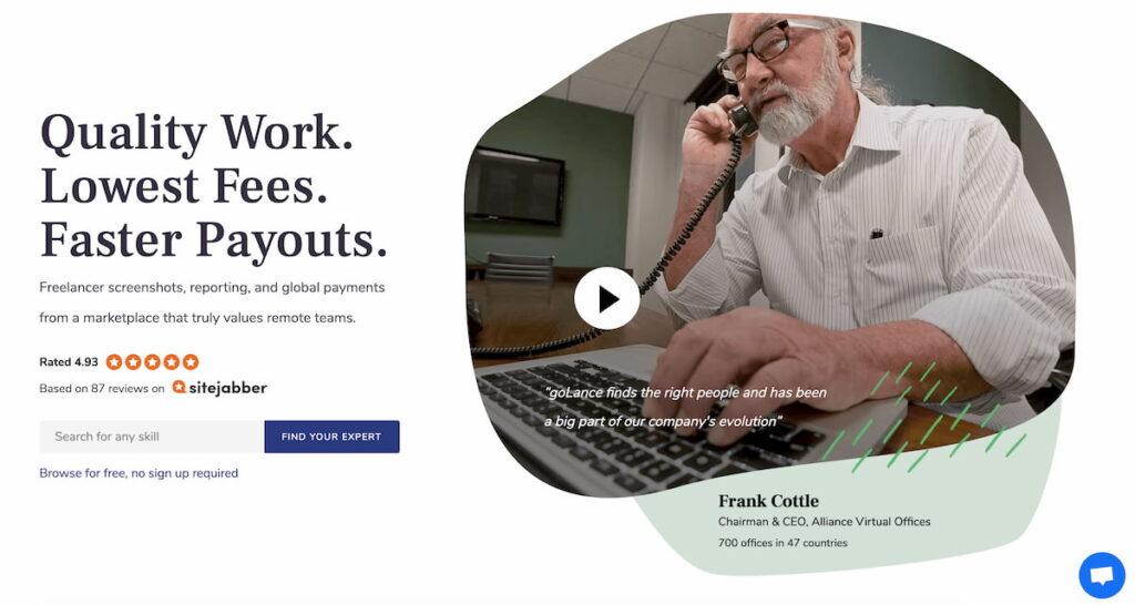 siti per trovare un freelance - go lance