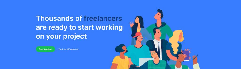 siti per trovare un freelance - workana