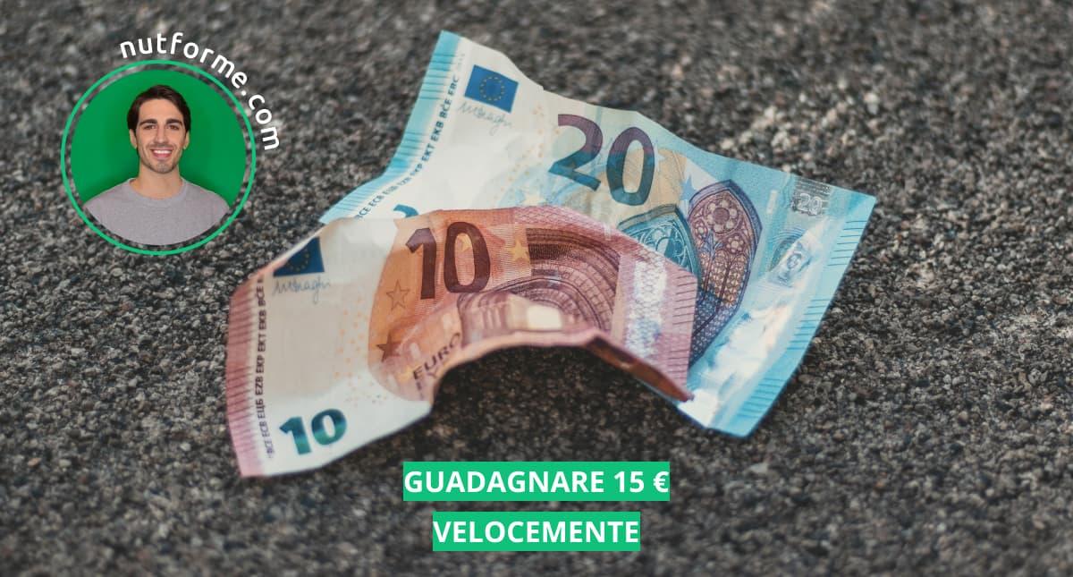 come guadagnare 15 euro al giorno