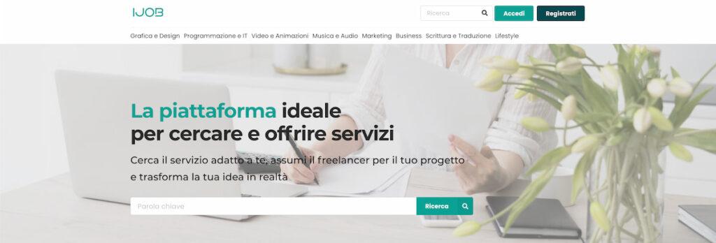 immagine che rappresenta l'homepage di ijob