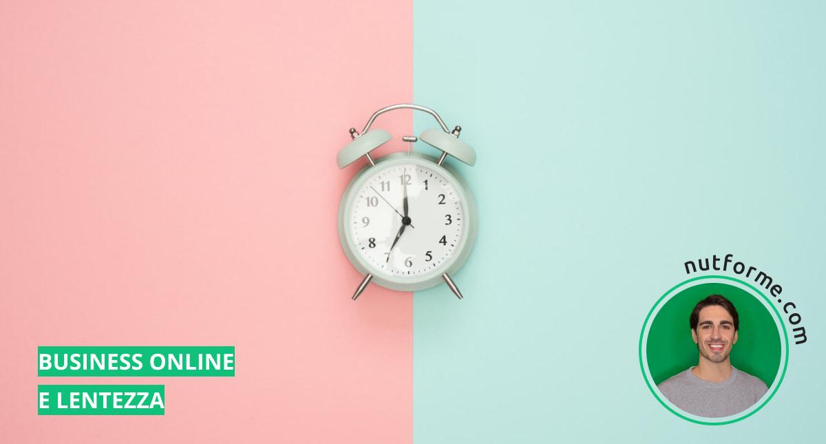 un business online è un'arte lenta